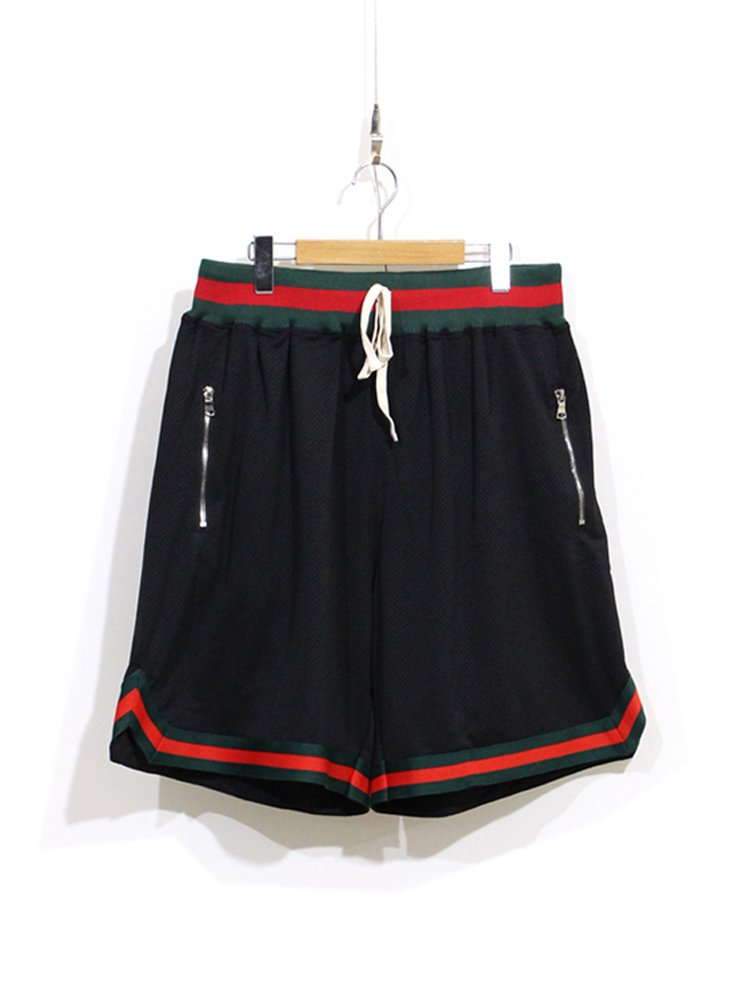 Basket Short #BLACK/GREEN