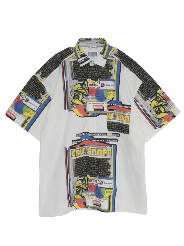 MD STRUCTURES S/S SHIRT #WHITE