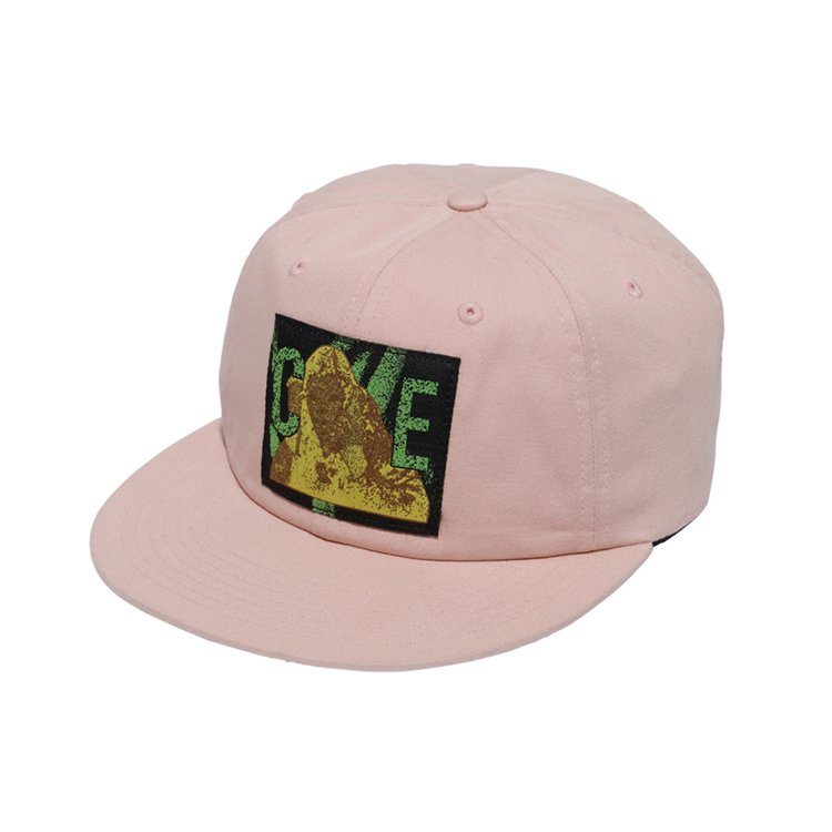 CE PATCHED LOW CAP #PINK