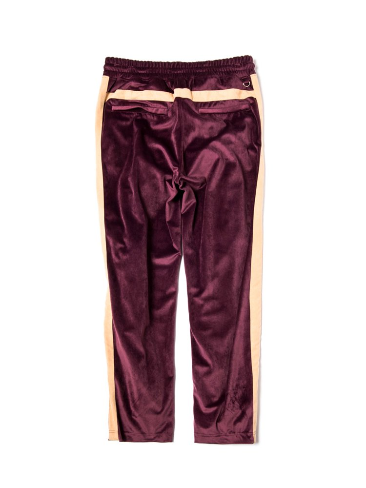 LUX G's TRACK PANTS #BURGUNDY