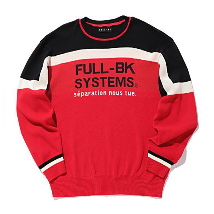 SYSTEMS SKI SWEATER #RED