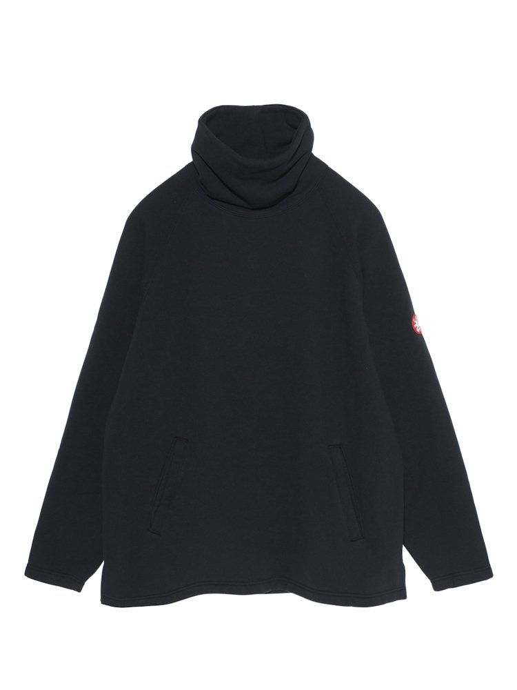SWEAT PULLOVER SMOCK #BLACK