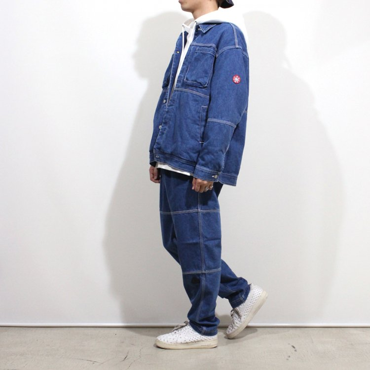 PANEL DENIM JACKET #INDIGO