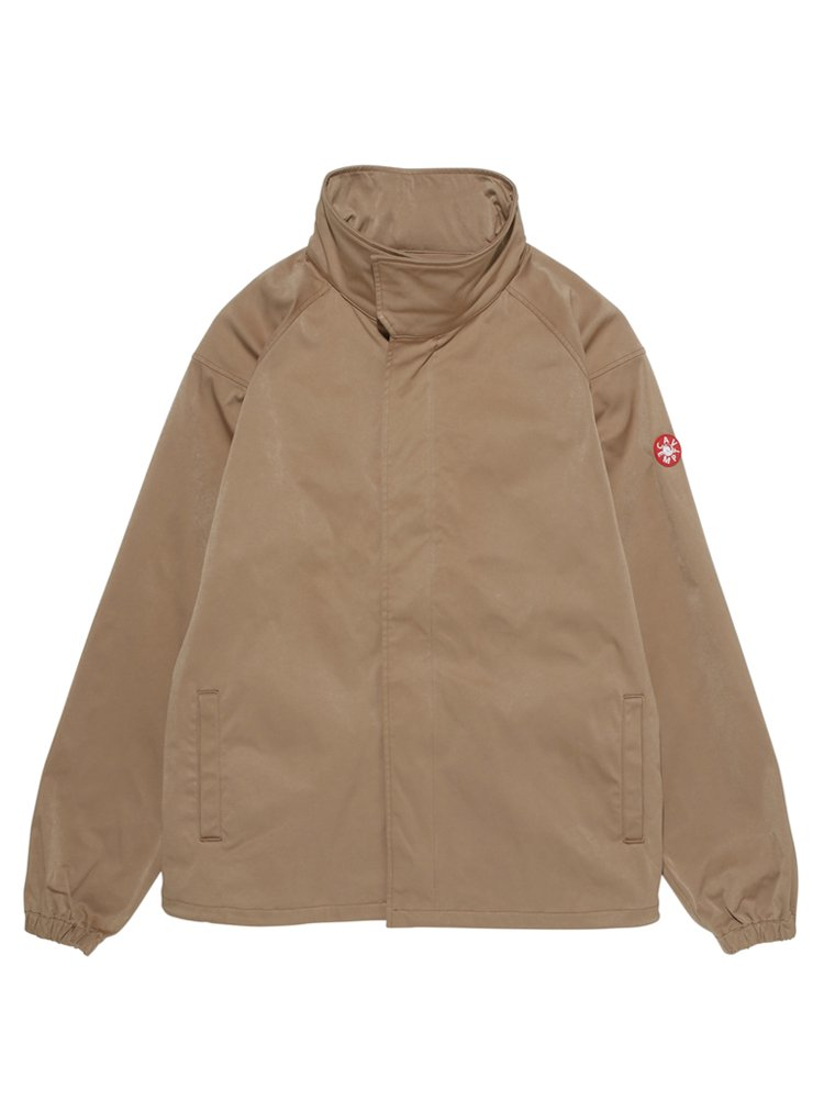 SMOOTH ZIP JACKET #BEIGE
