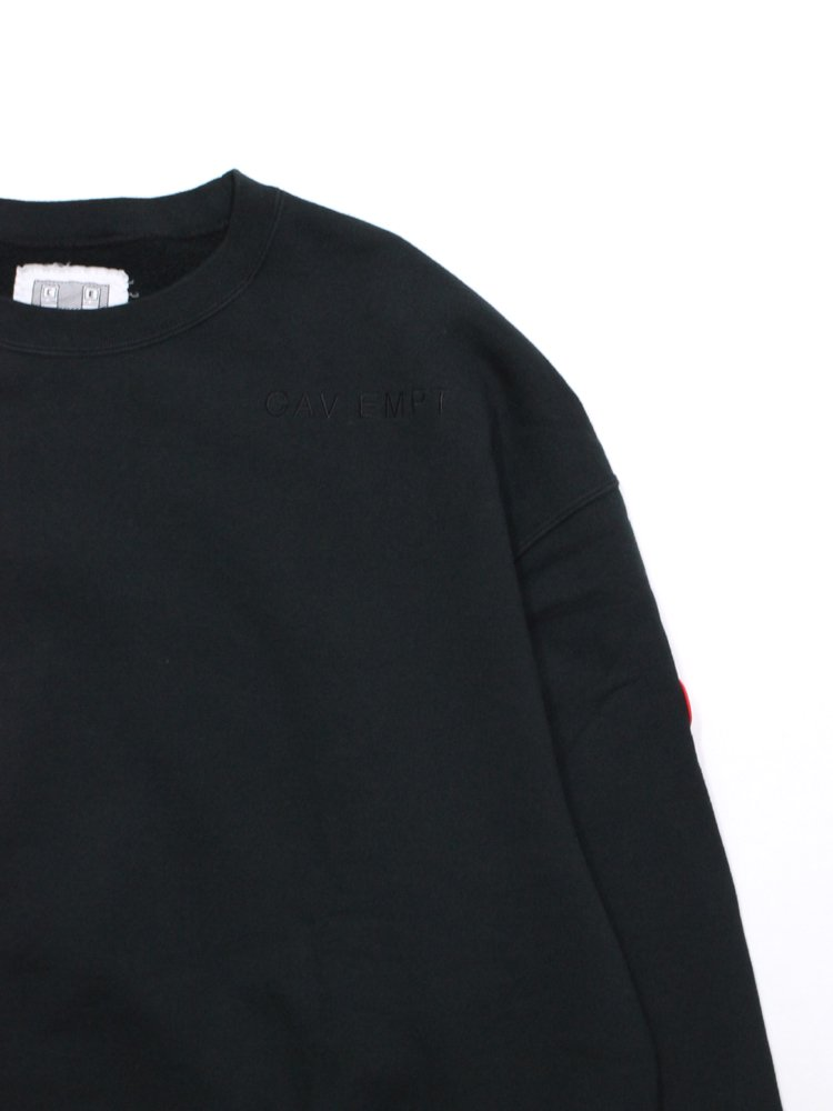 CARD 19/1 CREW NECK #BLACK