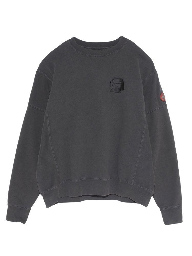 PACK CREW NECK #CHARCOAL