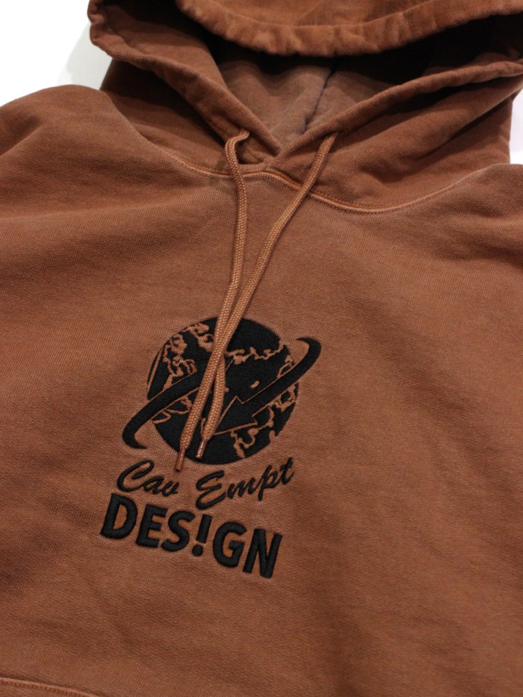 GLOBE HEAVY HOODY #BROWN