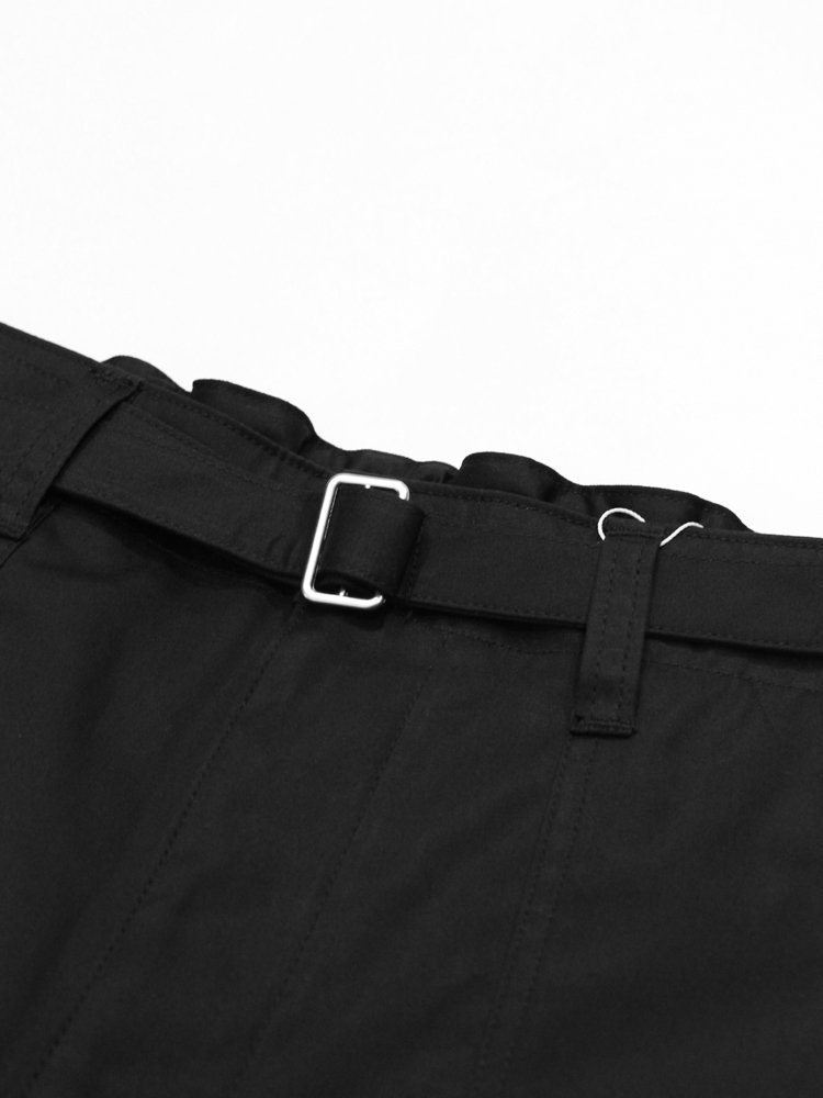 NO BONTAGE PANTS #BLACK