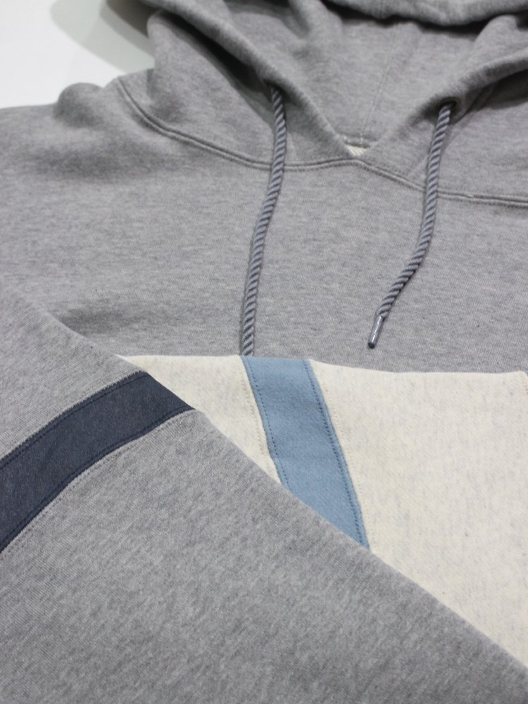 SWITCHED BIG HOODIE #GRAY