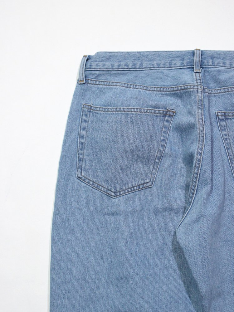 Denim bondage pants #INDIGO