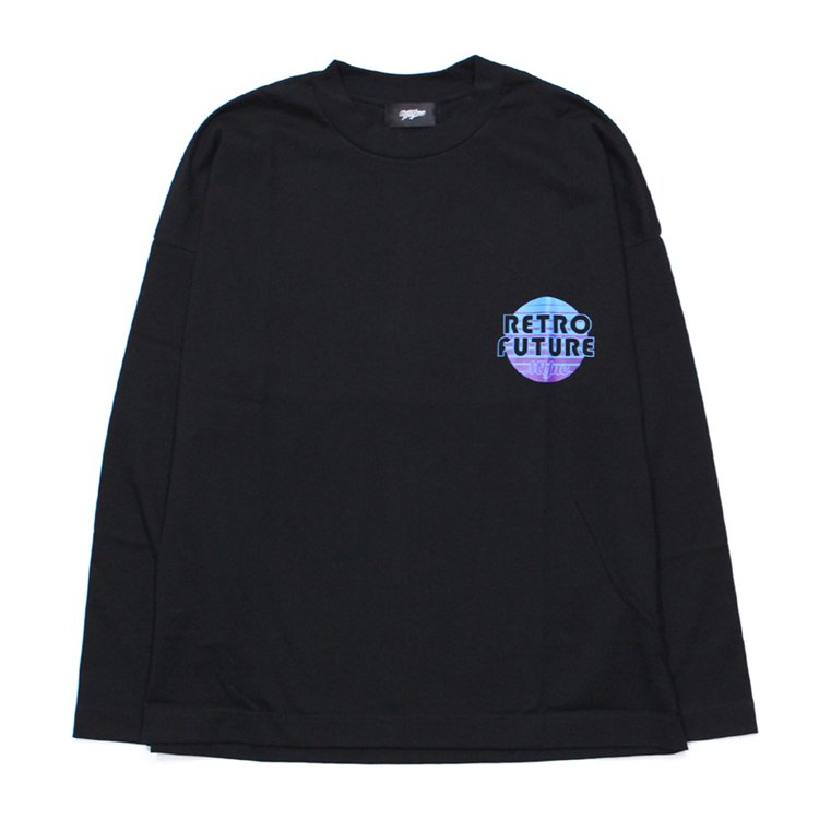 RETRO FUTURE L/S T-shirt #BLACK