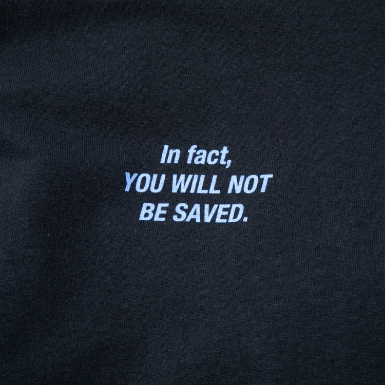 NOT BE SAVED LS T #BLACK
