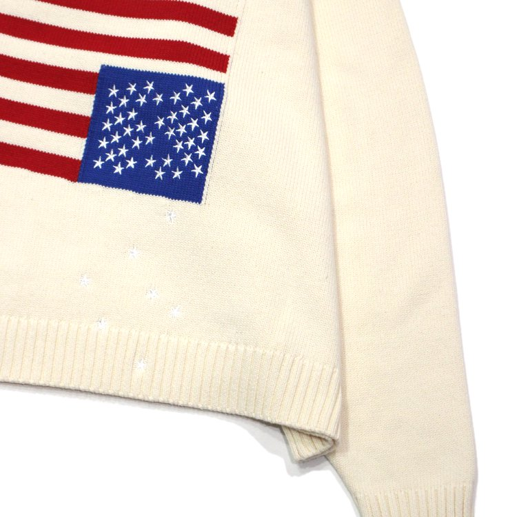 FALLING STAR SWEATER #OFF WHITE