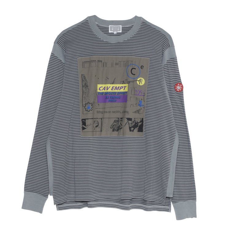 TAKING HOLD LONG SLEEVE T #GREY