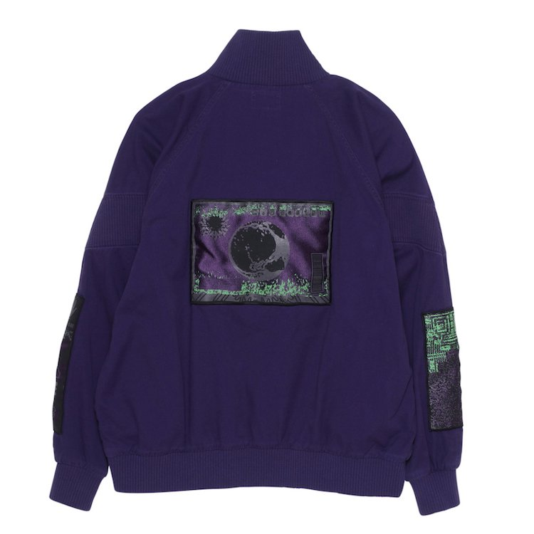 COMMODITY PULLOVER #PURPLE
