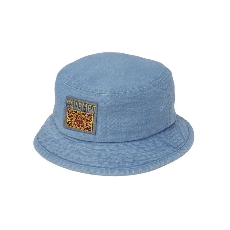 DENIM BUCKET HAT #INDIGO