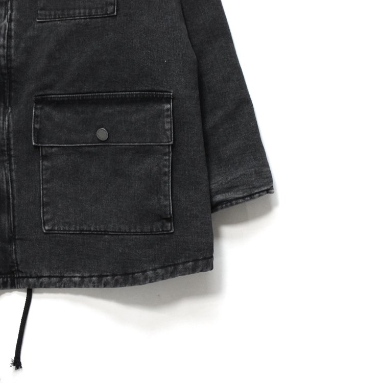 DIRTY WILLY MONSTER WORK JACKET #BLACK