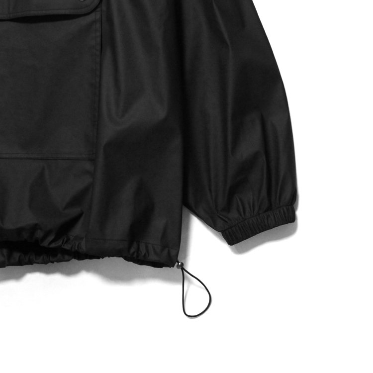 Waterproof Paneled Anorak #BLACK