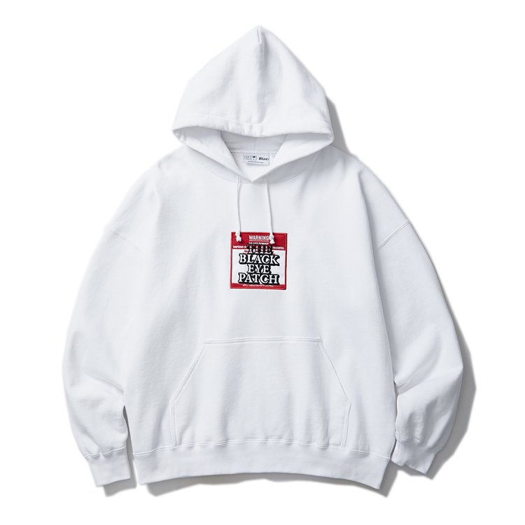 LABEL HOODIE #WHITE