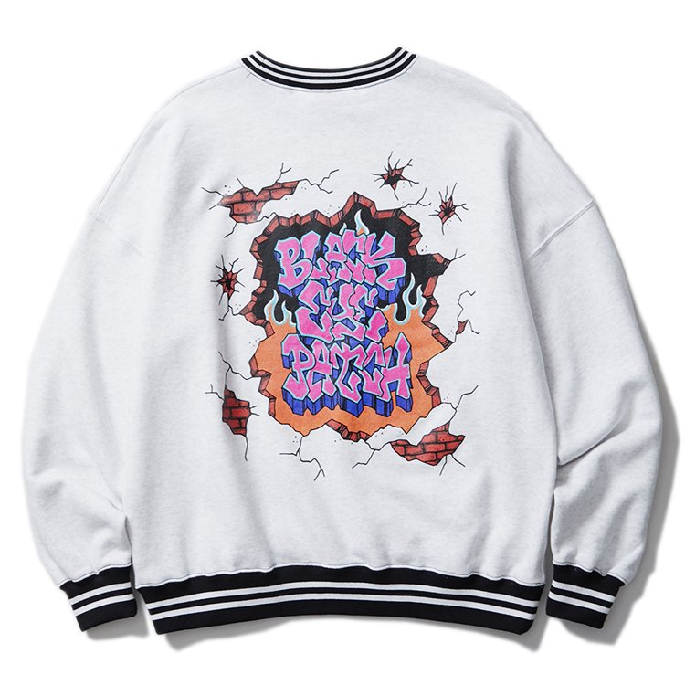 GRAFF CREW SWEAT #WHITE