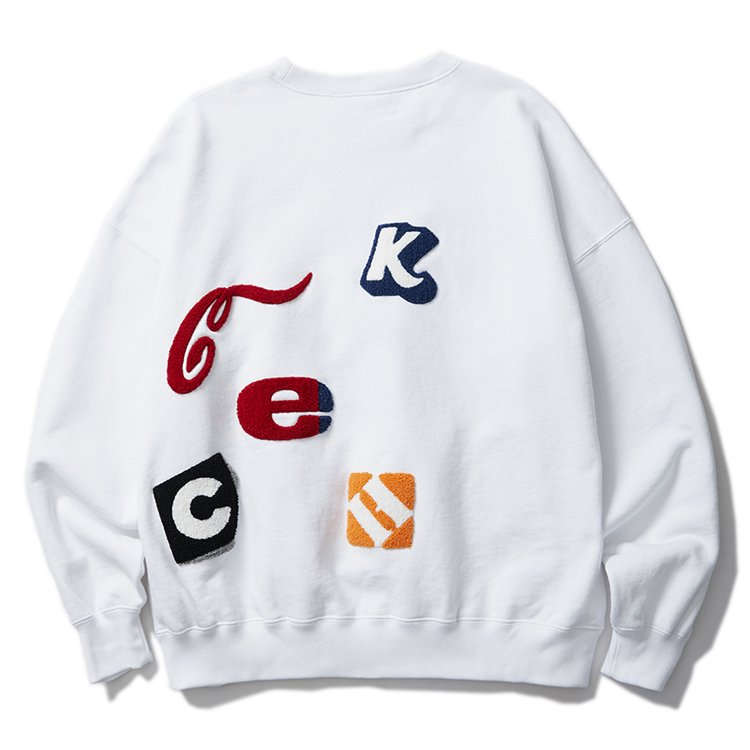 COMPANY CREW SWEAT #WHITE