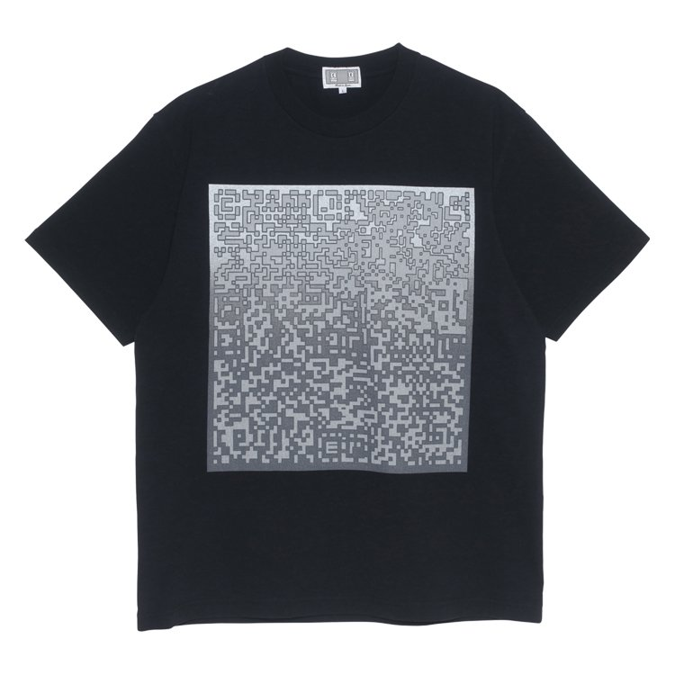 PIXLATED NOISE T #BLACK
