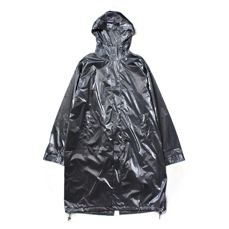 Trailblazer Hooded Metallic Coat #Metallic Silver