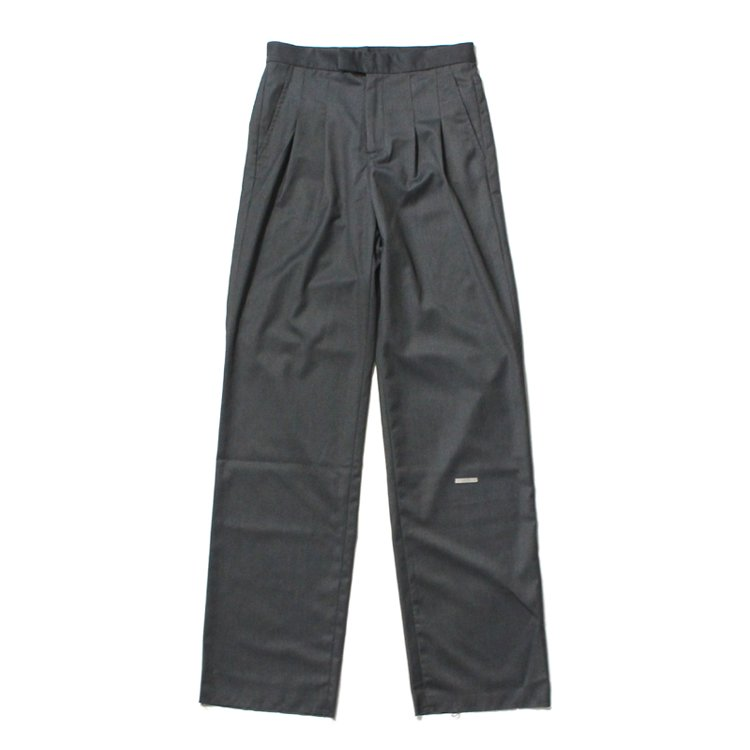 Trailblazer Pleated Trousers #Storm Gray