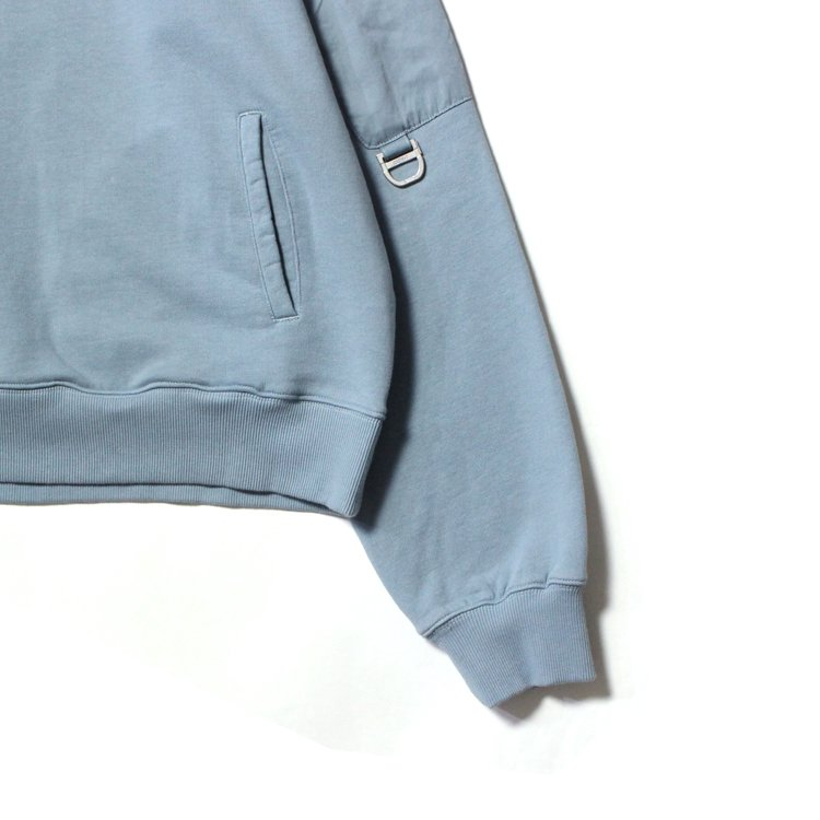 Memory Supervisor Panelled Hoodie #Glaucous