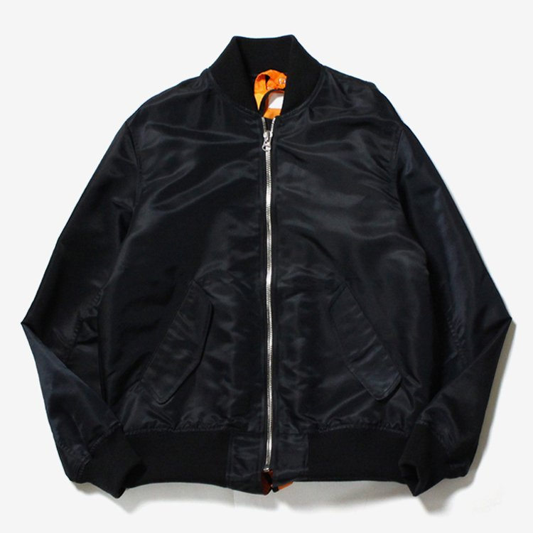 Sandwich Bomber Jacket #BLACK