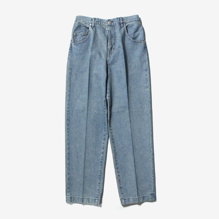 Straight Denim Slacks Used #INDIGO