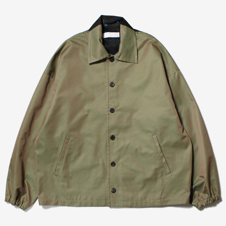 Cosmo Barred Space Jacket #OLIVE