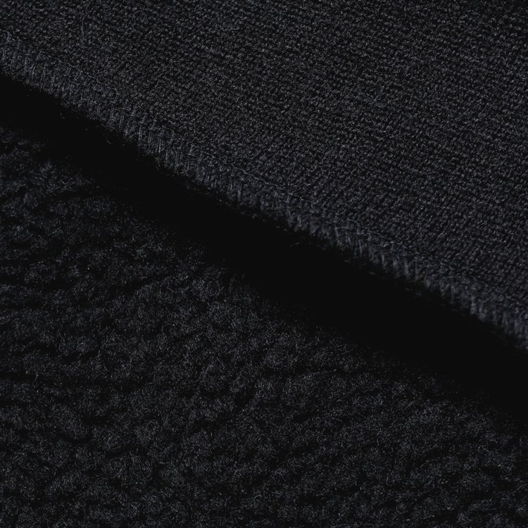 BOA FLEECE PULLOVER #BLACK