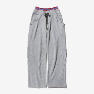 RIB SWEAT PANTS #GRAY _ FACETASM