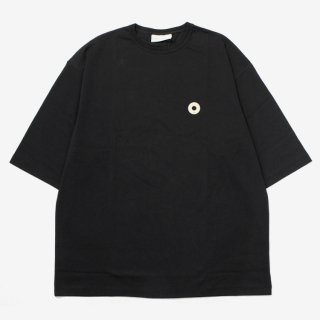 Oversize Patched Tee #BLACK _ Drole de Monsieur