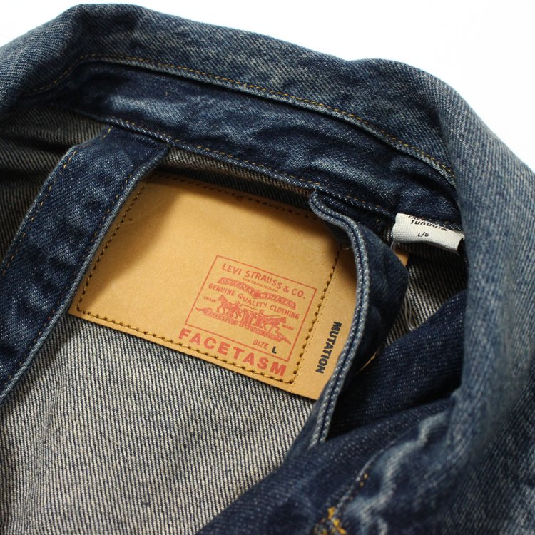 LEVI'S MIX DENIM JACKET #INDIGO