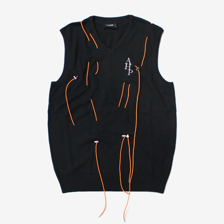 Knit with laces #BLACK