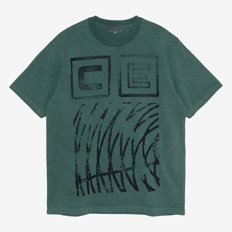 OVERDYE STAMP CE T #GREEN