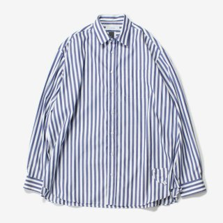 BIG SHIRT #STRIPE _ FACETASM
