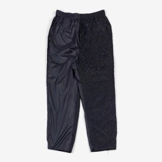 HYBRID LEOPARD EASY TROUSERS 01 #NAVY _ Alice Lawrance