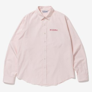 OPTIMA L/S SHIRT #PINK _ BlackEyePatch