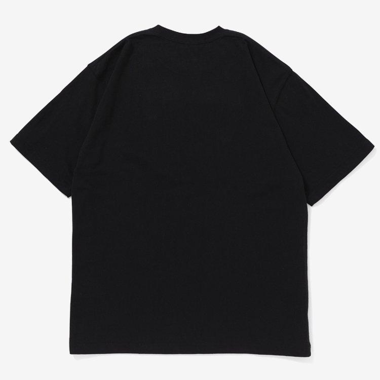 HOT LABEL TEE #BLACK