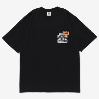 HOT LABEL TEE #BLACK _ BlackEyePatch