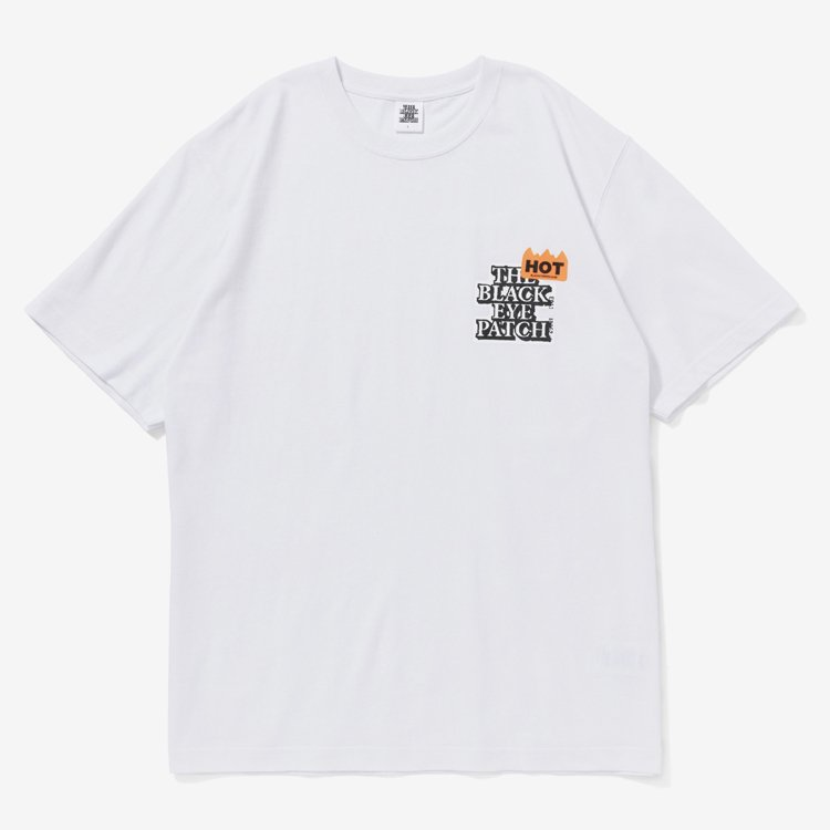HOT LABEL TEE #WHITE