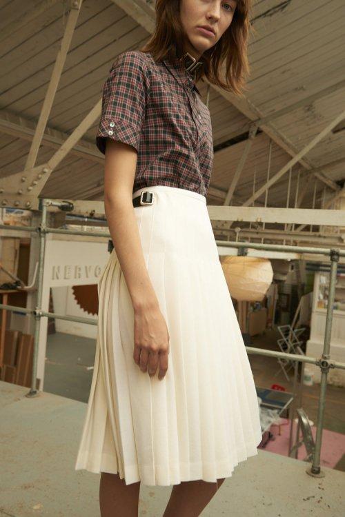 レディース / LE KILT / Pleats All Round Skirt