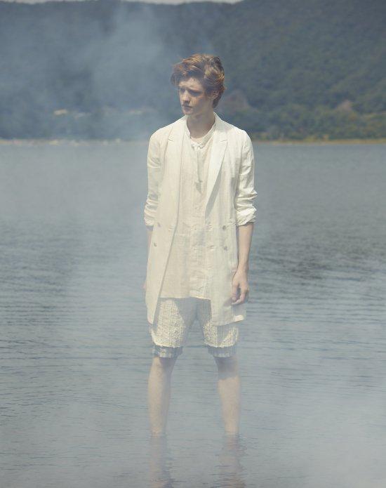 JUN OKAMOTO-Coat White