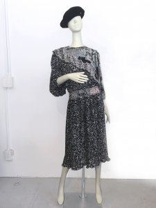 Diane Freis Dress - BLACK