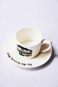 The Old Curiosity Shop /  Cup and Saucer