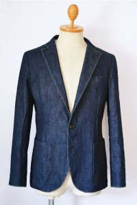 <img class='new_mark_img1' src='//img.shop-pro.jp/img/new/icons8.gif' style='border:none;display:inline;margin:0px;padding:0px;width:auto;' />TEEDY&The Changeling-Blue Denim Tailored Jacket