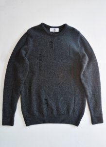 TEDDY / DAMAGED KNIT